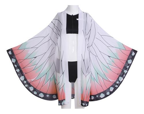 Imagen 1 de 9 de Kimetsu No Yaiba Kochou Shinobu Disfraz Traje Baño Cosplay