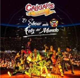 Cd Los Caligaris 20 Años El Show Mas Feliz