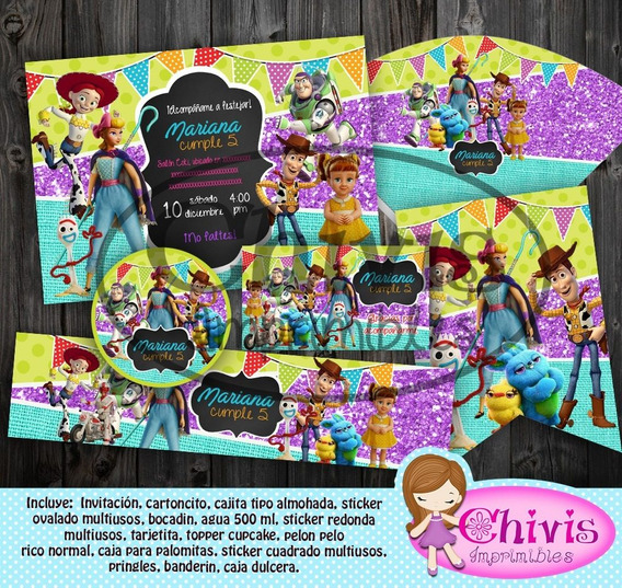 Kit Imprimible Candy Bar Toy Story Bety Papeles Digital