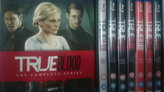Blu-ray True Blood A Série Completa