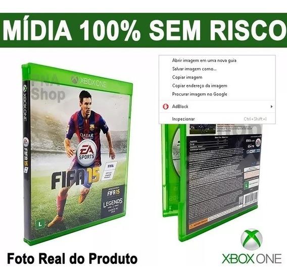 Fifa 2015 15 Xbox One Narração Em Português - Original