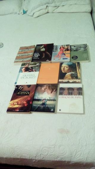Lote 10 Livros Literatura Estrangeira Romance E Drama