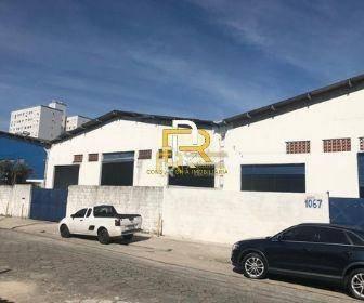 Galpão Para Alugar, 600 M² Por R$ 8.000/mês - Cidade Ocian - Praia Grande/sp - Ga0002