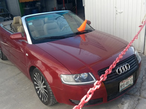 Audi A4 Convertible 1.8 2004 4 Cil Remato $79,500 Fac Origin