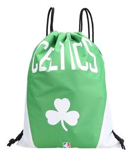 Sacola Mochilete Bolsinha Boston Celtics Nba Time Basquete