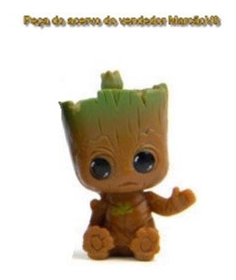 Miniatura 5 Cm Em Pvc Do Groot Dos Guardiões Da Galaxia N4