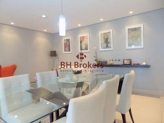 Apartamento Com 3 Quartos Para Comprar No Grajaú Em Belo Horizonte/mg - 14539