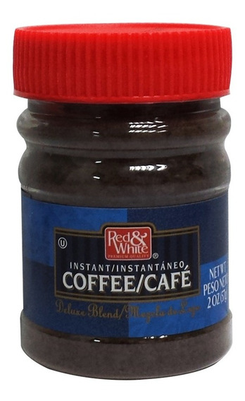 Café Instantaneo 2 Oz 57 Grs. Red & White