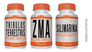 Tpc - Tribulus + Zma + Silimarina - 60 Cápsulas