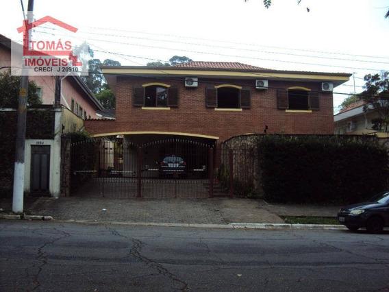 Sobrado Residencial Para Locação, City América, São Paulo. - So1696