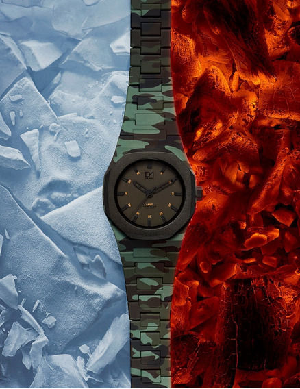 Relógio D1milano - Camouflage