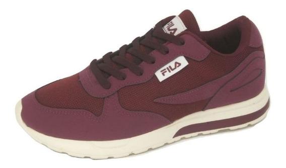 Tênis Feminino Fila Footwear Extra Runner Bordo - 905364