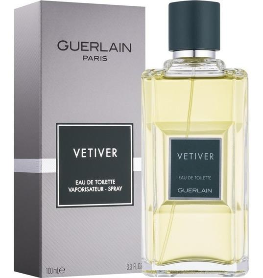 Perfume Vetiver Guerlain Masculino Edt 100ml Original Lacrad
