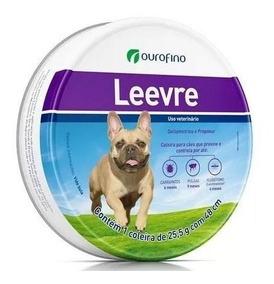 Coleira Leevre Cães P 48cm Antipulgas, Carrapatos E Mosquito