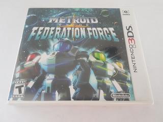 Metroid Prime Federation Force 3ds Nuevo Citygame Ei
