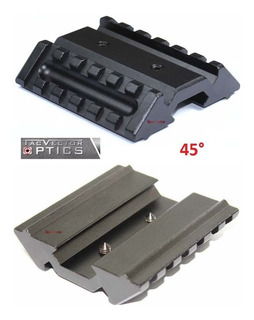Mount Trilho Vector Tactical Duplo 45° Offset Picatinny