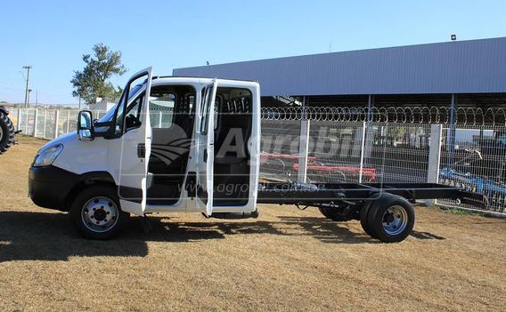 Caminhão Iveco Daily Cabine Dupla, Ano 2012 No Chassis