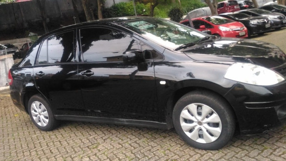 Nissan Tiida 1.8 Flex - 4 Portas - 2011 - Preto
