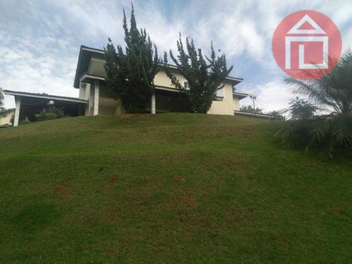 Casa Com 4 Dormitórios À Venda, 390 M² Por R$ 2.490.000,00 - Condomínio Jardim Das Palmeiras - Bragança Paulista/sp - Ca2287