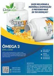 Omecaps Kit Ômega 3 - 2 Unidades (60 Cápsulas De 1000 Mg)