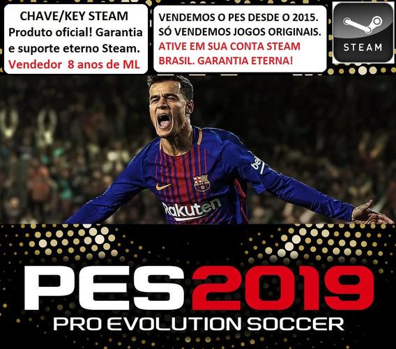 Pro Evolution Soccer 2019 Pc Steam Key Pt Br Original Pes 19