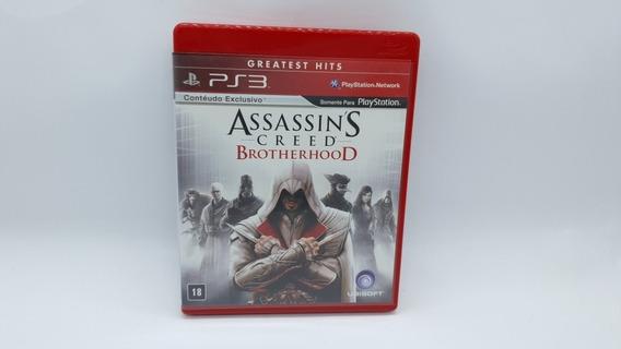 Assassins Creed Brotherhood - Ps3 - Midia Fisica Em Cd