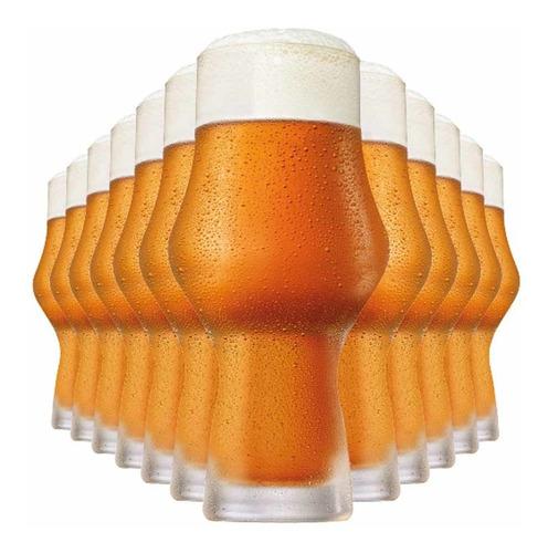 Jogo Conjunto Kit Copo Cerveja Craft Beer Ipa 12pc