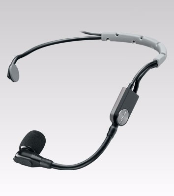 Microfone Headset Shure Condensador Cardioide - Sm35 Xlr