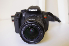 Câmera T5i + Lente 18-55mm E Mais 2 Baterias