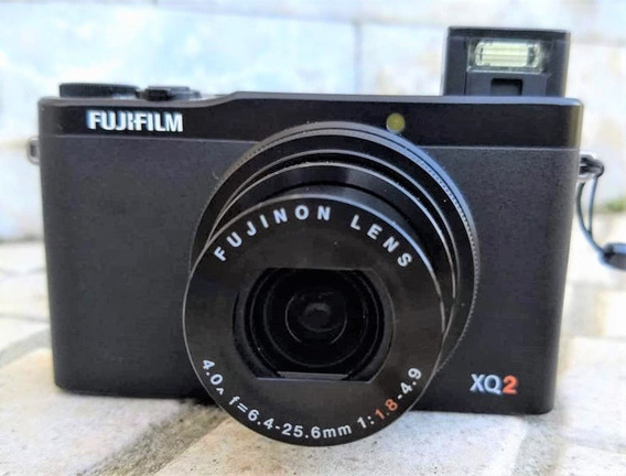 Camera Fujifilm Xq2 Lente Zoom F/1.8, Video Hd, Wi-fi