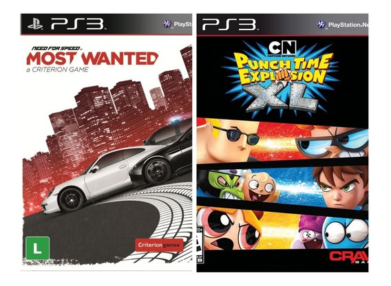 Need For Speed Most Wanted + Cartoon Network Ps3 Via Psn
