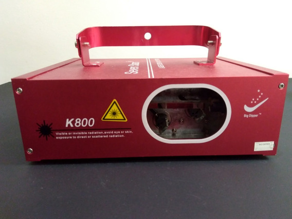 Laser Show K800 Verde Vermelho 150mw Ritmico Dmx Profissiona