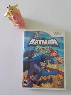 Batman The Brave And The Bold Wii The Videogame Garantizado