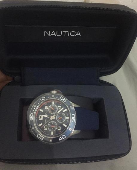 Reloj Nautica Napp25002 Azul Marino