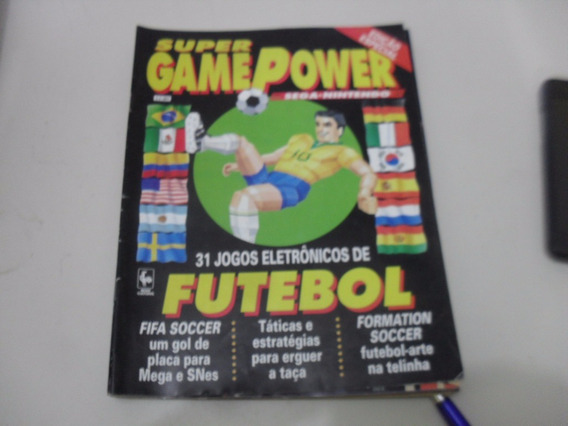 Revista Super Game Ed Especial Futebol,top 10