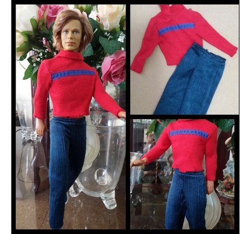 Juguete Barbie Ken Vestimenta Sport