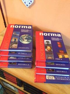 Enciclopedia Básica Del Conocimiento Universal Norma 8 Tomos