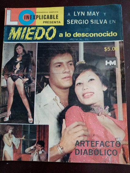 Lyn May Y Sergio Silva En Fotonovela Lo Inexplicable