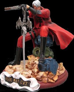 Devil May Cry Dmc Dante Virgil Estatuilla Figura De Resina