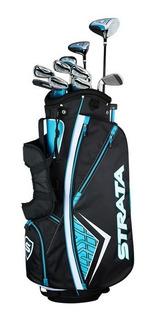 Kaddygolf Set Palos Golf Callaway Strata Plus Mujer