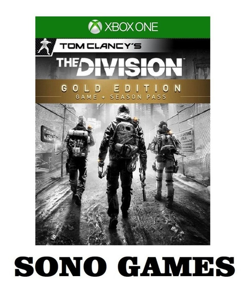 Tom Clancys The Division Gold Edition Xbox One + Brinde