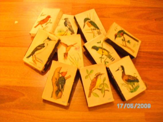 Cajas De Fosforos Antiguas Con Imagenes De Pajaros