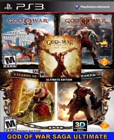 God Of War 5 In 1 Ps3 Psn Jogo Português Jogo Digital