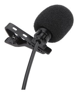 Lavalier Presilla Metal Mono Micrófono 3.5mm Con Presilla C