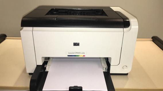 Impressora Hp Laserjet Color Cp1025 + Toner Preto