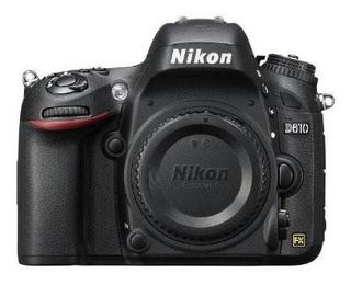 Nikon D610 24.3 Mp Cmos Fx-format Cámara Slr Digital