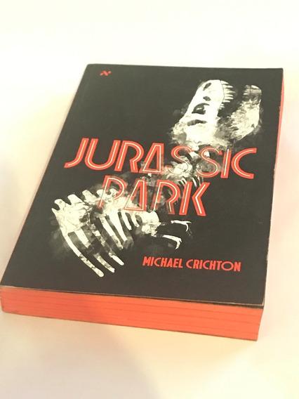Livro - Jurassic Park - Michael Crichton - Aleph - Seminovo