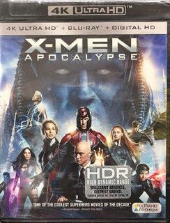 Marvel X-men Xmen Apocalipsis Bluray 4k Hd Bluray Digital
