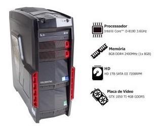 Pc Gamer Goldentec Ggw10 Com Intel Core I3-8100 3.6ghz 8gb 1