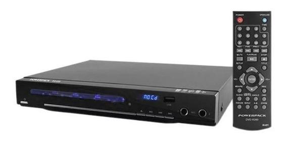 Dvd Powerpack Dvd-k260 Com Karaokê/usb -pendrive Cd Novidade